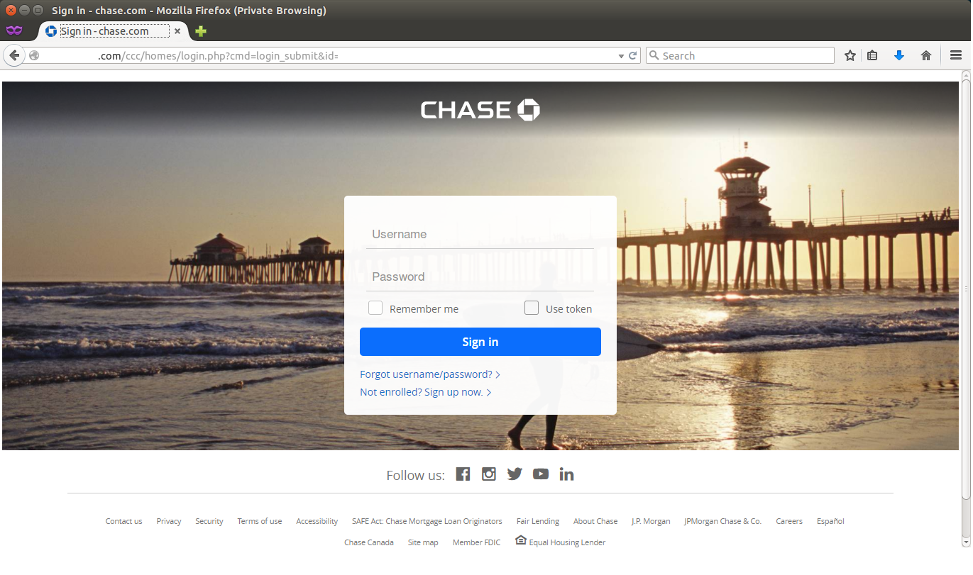Chase Bank Phish Kit Now Found in the Wild | Quttera blog