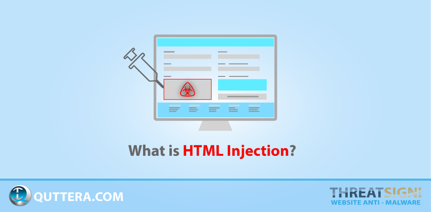 What is HTML Injection? | Quttera blog
