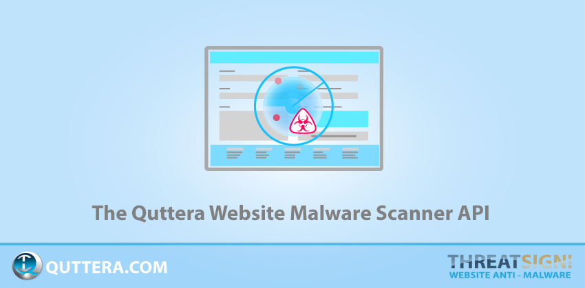 The Quttera Website Malware Scanner API