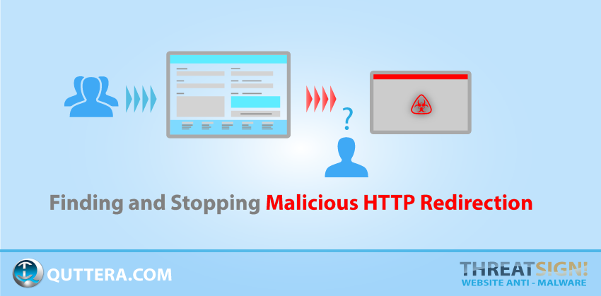 Finding and Stopping Malicious HTTP Redirection | Quttera