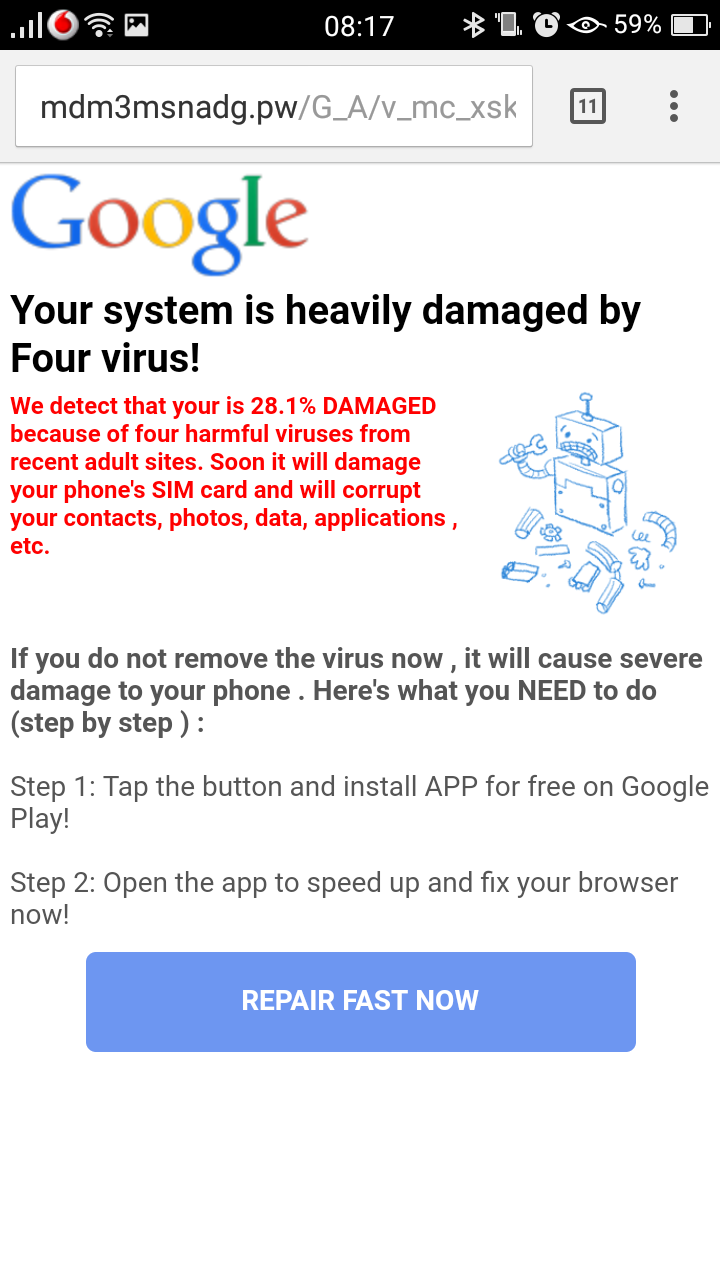Compromised Ads Lead Visitors To Install App From The Google Play Remove These By Signing Up And It Will Take You Store Download An If Are Still Unaware Along With Helpful Useful Apps Is