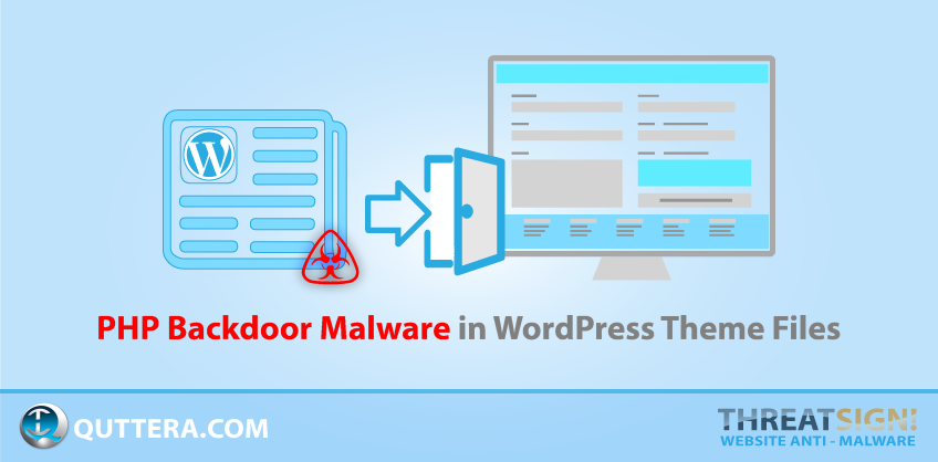 PHP Backdoor Malware in WordPress Theme Files | Quttera blog